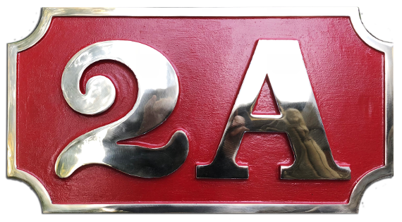 2A Number Plate