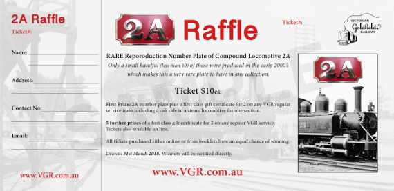 J 535 Number Plates Raffle Tickets