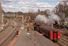 K190 shunts with 67BW from 3rd to 4rd at Castlemaine to wait the D3's arrival into 3rd.