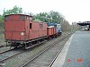 Saturday the 23rd July, 2005 - the signal works train hauled by F 212 in No 4 Road - W.Maylor