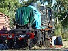 With smokebox removed - J549 sits around the turntable at Maldon - W.Maylor 25.8.2007