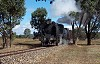 K160 climbing out of Muckleford towards Castlemaine - 5/3/2005