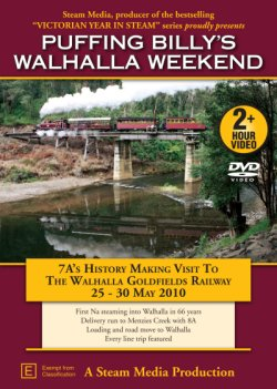 Puffing Billy's Walhalla Weekend