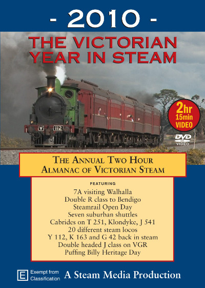 2010 The Victorian Year in Steam