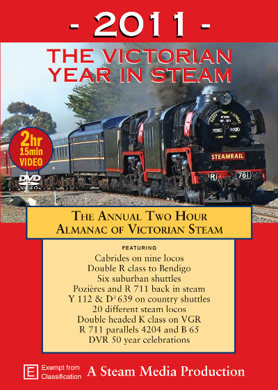 2011 The Victorian Year in Steam
